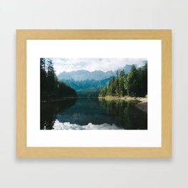 Looks like Canada II - Landscape Photography Framed Art Print