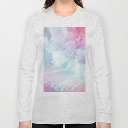 Cotton Candy Sky Long Sleeve T-shirt