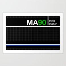 MA90 Art Print