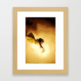 The Sun's Heart Framed Art Print