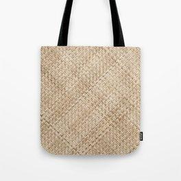 Basket Weaving Tote Bag