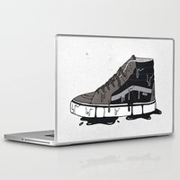 vans Laptop & iPad Skins featuring Vans Sk8-hi's by shoooes