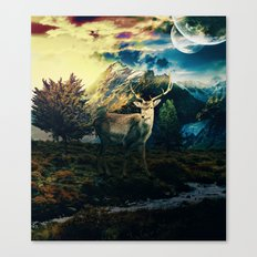 Deer VI Canvas Print