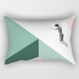 Minimal. Modern. Concept Art. Rectangular Pillow