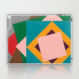 Kilim Flower grey Laptop & iPad Skin