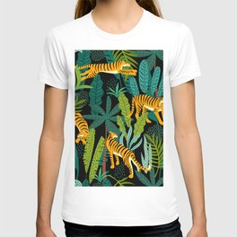 Tigers In The Jungle T-shirt