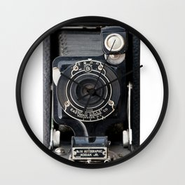 Vintage Autographic Kodak Jr. Camera Wall Clock