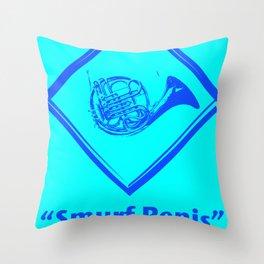 """""""Smurf Penis"""" Throw Pillow"""