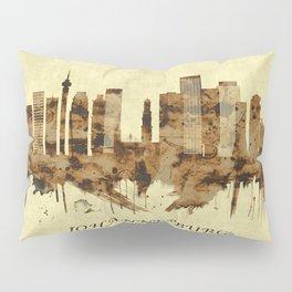Johannesburg South Africa Cityscape Pillow Sham