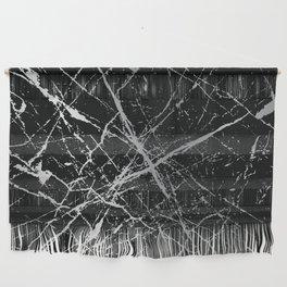Silver Splatter 090 Wall Hanging