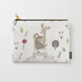 Love You My Dear Carry-All Pouch
