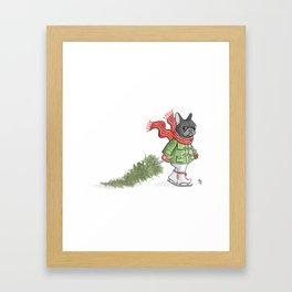 Franco's Cristmas Framed Art Print