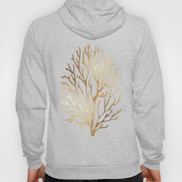 Gold Coral Hoody