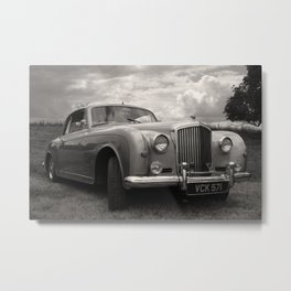 Classic Bentley Metal Print