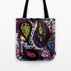 Paisley Chaos Tote Bag