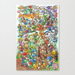 Smashing Good Times Canvas Print