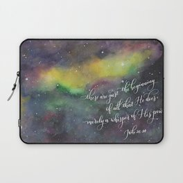Merely a whisper Laptop Sleeve