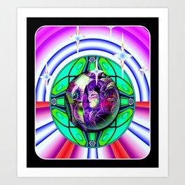 Pin Ball Wizards Art Print