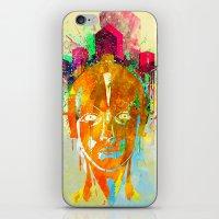 metropolis iPhone & iPod Skins featuring METROPOLIS by DIVIDUS DESIGN STUDIO