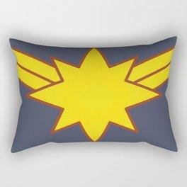 Captain Sparkle Fists in Minimalist Rectangular Pillow