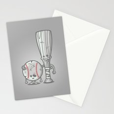 Bat-tered Stationery Cards