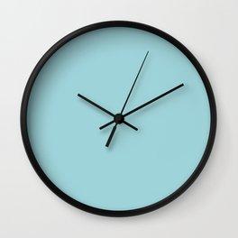 Snow Wall Clock