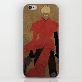 Vash the Stampede iPhone Skin