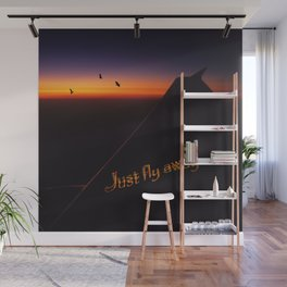 Just Fly Away Wall Mural