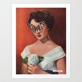 ELIZABETH TAYLOR.  (PIN-UPS). Art Print