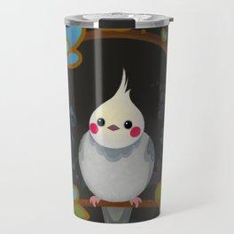 Cockatiel Travel Mug