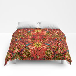 aziza fire Comforters