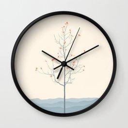 Twig Tree - Serenity Wall Clock