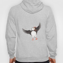 Atlantic puffin 1a Hoody