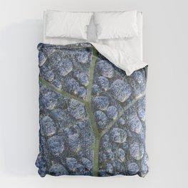 Cool water drops dew texture leaf Comforters