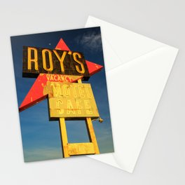 Roy's Vacancy Stationery Cards