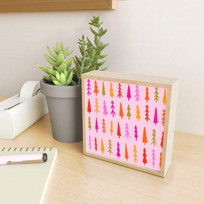 Tree Print Framed Mini Art Print