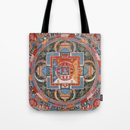 Mandala of Jnanadakini Tote Bag