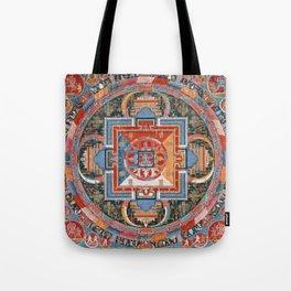 Mandala of Jnanadakini Tote Bag