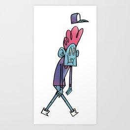 Chap Art Print