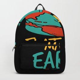Make Earth Flat Again Backpack