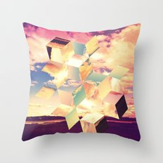 Unravelling Throw Pillow