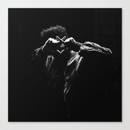 Photoshot black and white Canvas Print