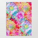 Rainbow Tie Dye Cosmos by kirstenstar