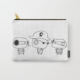 Three pirates, colour yourself Carry-All Pouch