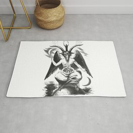 Baphomet - Satanic Church Rug