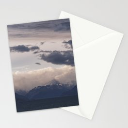 Mt Cook Likes To Hide 1 Stationery Cards