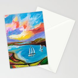Idyllic Lakeview Stationery Cards