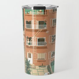 Hitchcock's Rear Window Travel Mug