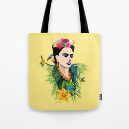 Frida goes to Brazil! Tote Bag