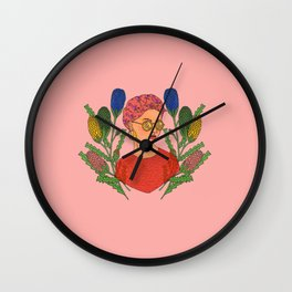 Banksia Lady Wall Clock